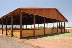 Horse covered arena