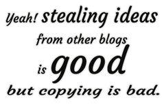 I shared my basic blogging strategies here!