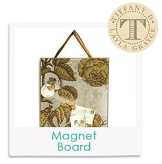 Tiffany D's Fave! Botanical Aged Mirror Magnet Board  from @LaylaGrayce #laylagrayce #insiderfaves