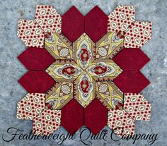 Lucy Boston Patchwork of the Crosses Block kit # 38