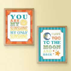 You are my sunshine and i love you to the moon and back: quote tattoo!!