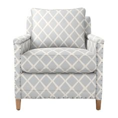 A medium sized statement piece.  Spruce Street Chair - Upholstered