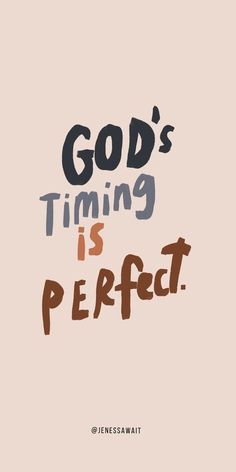 Christian Quotes Discover Gods timing is perfect. Faith quotes l Hope quotes l Christian Quotes l Christian Sayings Bible Verses Quotes, Jesus Quotes, Faith Quotes, Scriptures, Cute Bible Verses, Bible Quotes For Teens, Bible Bible, Faith Scripture, Bible Notes