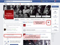 "Facebook elimina la funcionalidad ""usar Facebook como página"" ~ En la nube blog Social Media Tips, Marketing, Facebook, Blog, Cloud, Messages, Blogging"