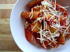 Capricciosa Pasta - The Fit Cook - Healthy Recipes  - everyday recipes