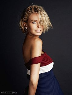 Lara Bingle Worthington Flaunts Her Baby Bump in a Sportmax dress | Gritty Pretty Magazine |