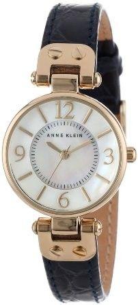 Reloj Anne Klein Round Navy Croco