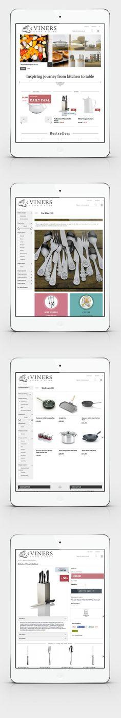 Viners Oneida Ltd / the Product Path – responsive e-commerce website www.viners.co.uk / CHILID for Viners Oneida Ltd / Agency: CHILID  Creative Dir.: Anna Zarudzka Designer / Graphic Designer: Anna Bil Front-end developer: Marek Goczoł, Bartłomiiej Tomecki, Agata Belkius