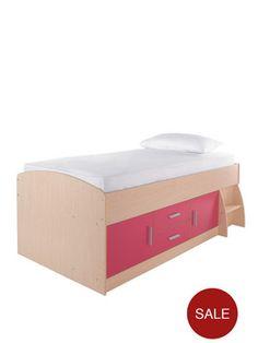 Kidspace Jersey Cabin Bed | littlewoods.com