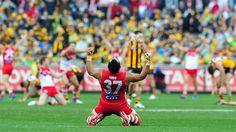 Sydney Swans win AFL 2012 Grand Final