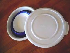 #PAMPEREDCHEF 2qt #CollapsableBowl #Bowl #2794, Blue, NWOT