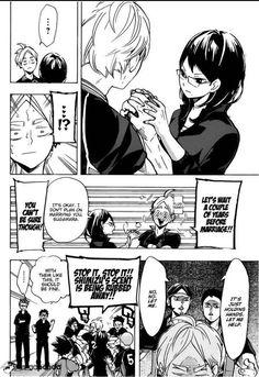 Sugawara Koushi, Shimizu Kiyoko, Karasuno, Haikyuu!!, manga
