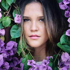 Flower. Mine forever @laramiretti1 surrounded by #Flowers for her #sweetfifteen book. #Makeup by @mariacelesteherrera. #sonya7rii #Moment #Nature #Portrait
