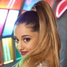 Pics For > Ariana Grande Ponytail 2014