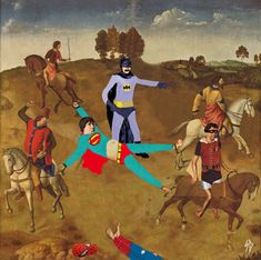 Eccentric gifs Have a Hilarious Outlook on Classic Art and Situations - Randommization