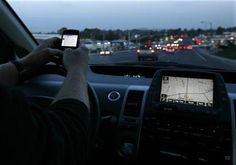 Talking to death. Increase in text and phone related deaths in traffic accidents.