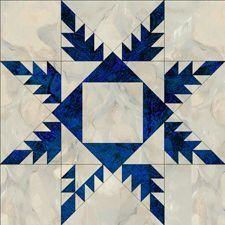 Feather Star: Free block patterns via Jinny Beyer, hundreds of them..