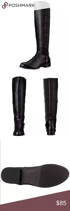 List! Steve Madden Vegan Knee-High Boots! NEW! Gorgeous riding boots by Steve Madden! NIB! Steve Madden Shoes Over the Knee Boots