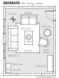 Furniture Layouts For A Large Living Room Floor
