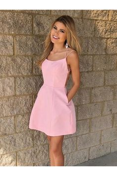 Customized Trendy Short Homecoming Dress, Homecoming Dress Simple, Pink Homecoming Dress, Homecoming Dress A-Line Homecoming Dresses Under 100, Elegant Prom Dresses, Dresses Short, Beautiful Prom Dresses, Prom Dresses Online, Dress Online, Graduation Dresses, Bleu Royal, Short Prom