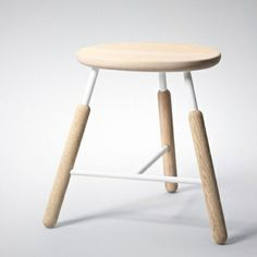 Scandinavian Design, Raft Stool White