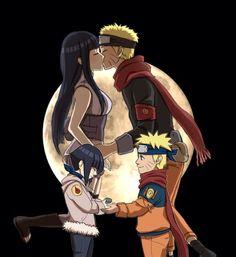 Naruto and Hinata Naruto Uzumaki Shippuden, Naruto Sasuke Sakura, Naruto Cute, Naruto Girls, Hinata Hyuga, Naruto And Sasuke Wallpaper, Wallpaper Naruto Shippuden, Naruto Images, Naruto Pictures