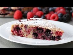Pinned onto Tasty Magazine Saved in Food and drink Category Tasty Videos, Food Videos, Delicious Desserts, Dessert Recipes, Muffins, Buzzfeed Tasty, Cupcakes, Pastel, Summer Berries
