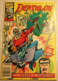 Marvels Deathlok August 1991 Issue #2 This Character Is Now A Regular on Marvels Agents of Shield TV Series.