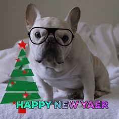 новогодняя гиф открытка