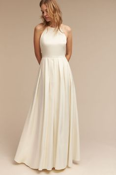 Snow Delancey Gown | BHLDN how full for grandmas skirt