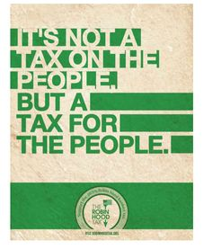 A Tax for the people!