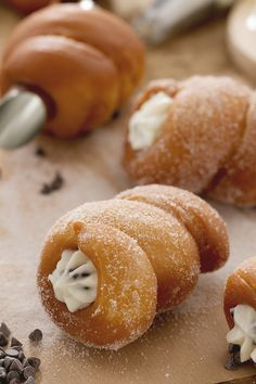 Italian Cookies, Italian Desserts, Donuts, Western Food, Sicilian Recipes, Pastry Art, Baking And Pastry, Homemade Cakes, International Recipes