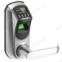 Serrure biométrique à empreintes digitales - webstore-securite.fr