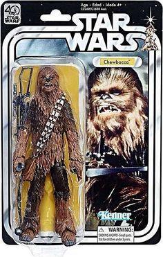 "Chewbacca Star Wars Black Series 40th Anniversary 6"" Action Figure Pre-Order #Hasbro"