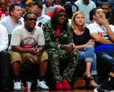 #TrinidadJame$ wearing #Balenciaga Arena