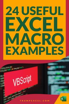 Excel macros can save you a lot of time by automating repetitive work. in many cases, only a few lines of code can save you hours and hours of work every week.    Here is a list of 24 simple Excel VBA macros that you can use in your day-to-day work to save time and be a lot more productive. Carolina Usa, North Carolina, Vba Excel, Excel Macros, Pivot Table, Duke University, Microsoft Excel, Day Work, Durham