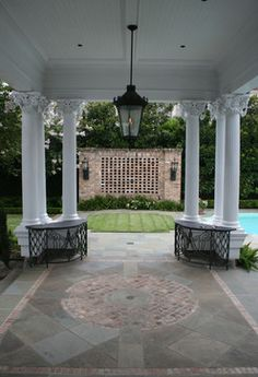 New Orleans Estate - traditional - Patio - New Orleans - McDugald-Steele Landscape Architects