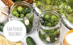 Raw Pickled Vegatables   The Raw Food Mum