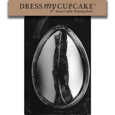 Dress My Cupcake Chocolate Candy Mold 2Pound Egg Easter -- Read more from Amazon.com