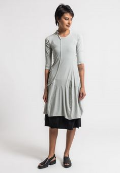 Rundholz Black Label External Pocket Tunic in Sea