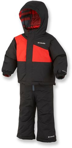 Columbia Snow Slush Reversible Snowsuit Set - Toddler Boys' - 2012 Closeout - Great warmth for little kids at outlet prices.