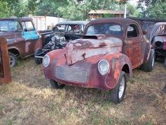 41 Willys Coupe steel body with history For Sale
