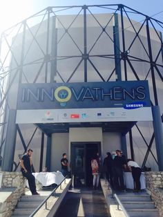 Innovathens - CrowdArts is pitching at