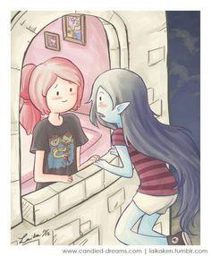 Bubbline     Sugerless Gum     Marceline x Princess Bubblegum     Adventure Time