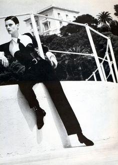 Kristen by Helmut Newton, 1992