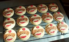 WOW! I saw this new weight loss product on Dr.Oz and I already lost like 23 pounds from it. Click on the image and comment if it works for you :), Sock monkey cookies  : )