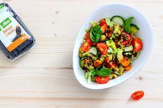 Linsen-Curry-Salat