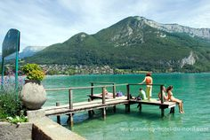 ANNECY - Lake and the old town