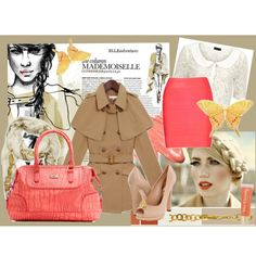mademoiselle, created by croquette on Polyvore