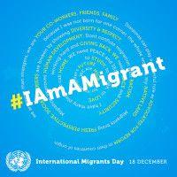 #IAmAMigrant. Il 18 dicembre #2014 è la Giornata Internazionale delle Migrazioni. Le inziative in #Calabria